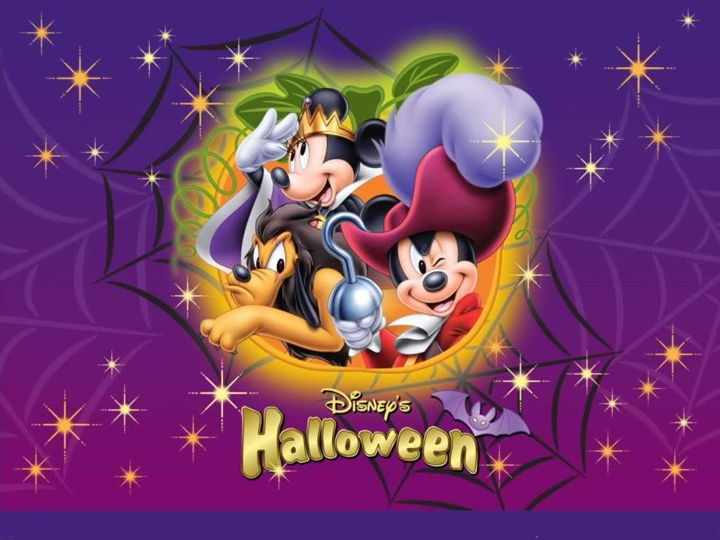Mickey Halloween card :)
