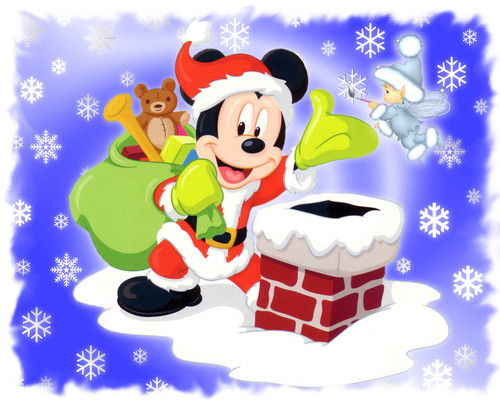 Mickey souris Santa