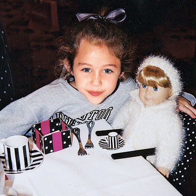 Miley Cyrus As A Little Kid