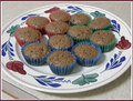 Mini Chocolate Yogurt Cupcakes - chocolate photo