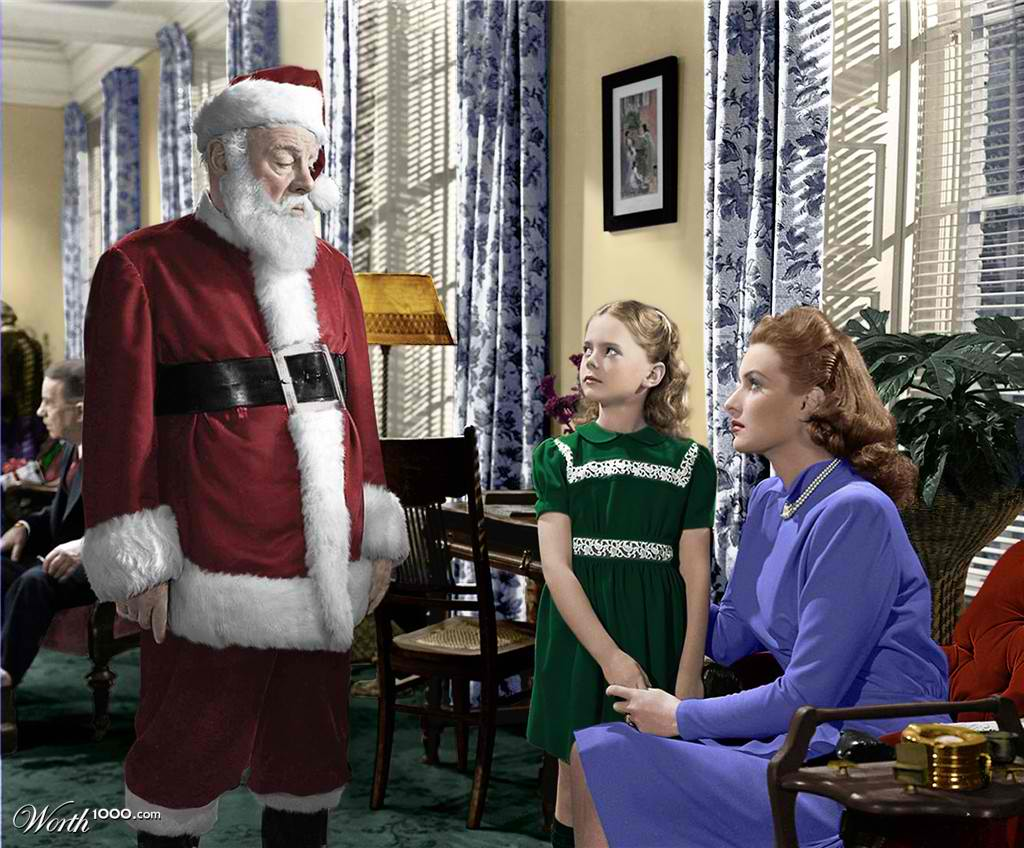 miracle on 34th street young natalie wood fan art