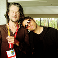 Misha & Ben Edlund - misha-collins photo