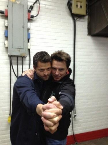Misha & John Barrowman