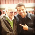 Misha & Stan Lee - misha-collins photo