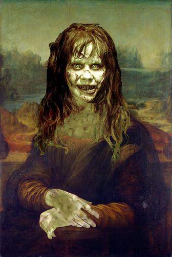 The Exorcist Hintergrund called Mona Lisa Leonardo da Vinci
