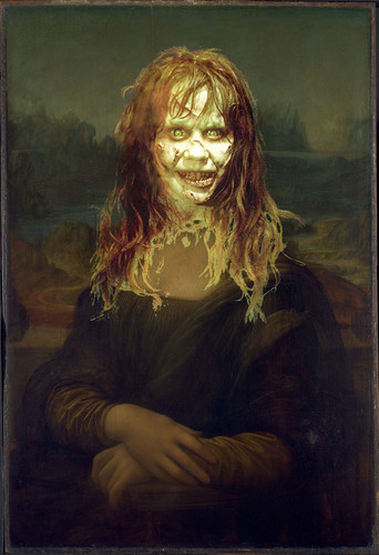 The Exorcist Hintergrund entitled Mona Lisa