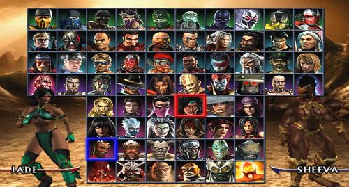 Mortal Kombat kertas dinding probably containing a stained glass window titled Mortal Kombat Armageddon screenshot