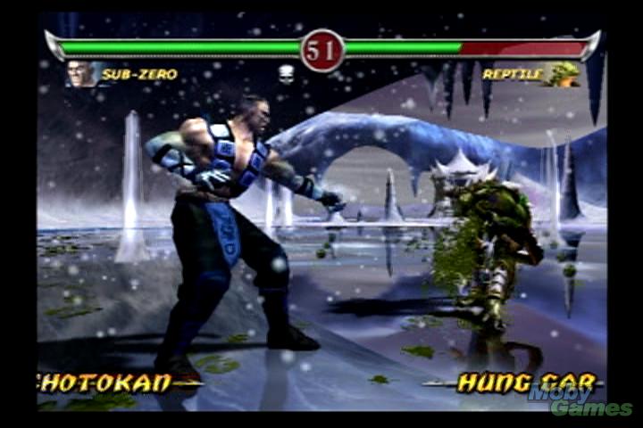 Mortal Kombat: Deadly Alliance screenshot - mortal kombat