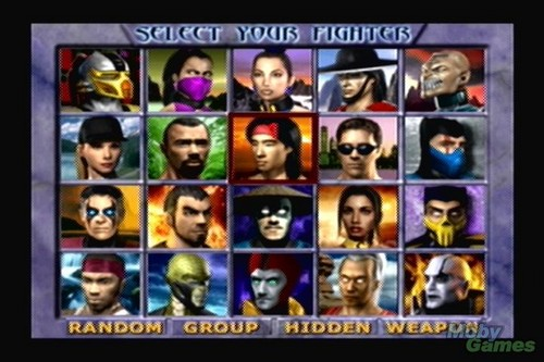 Mortal Kombat Gold screenshot