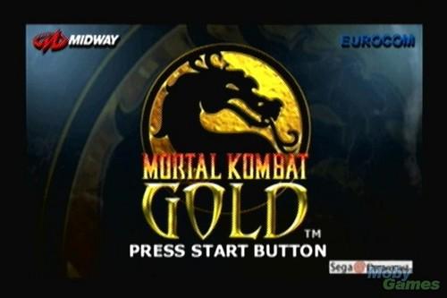 Mortal Kombat goud screenshot