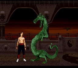 Mortal Kombat II screenshot