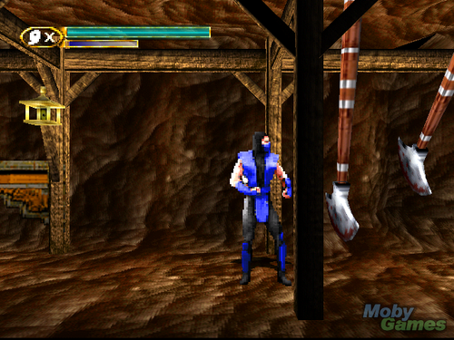 Mortal Kombat Mythologies: Sub-Zero screenshot