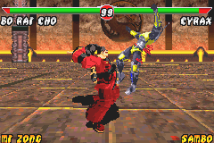 Mortal Kombat: Tournament Edition screenshot