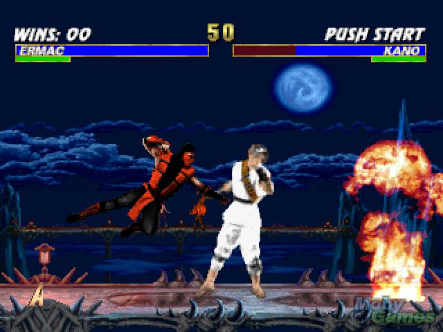 Mortal Kombat Trilogy screenshot - mortal kombat fotografia