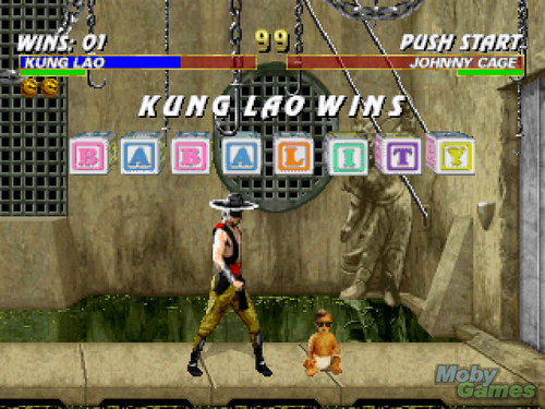 Mortal Kombat Trilogy screenshot