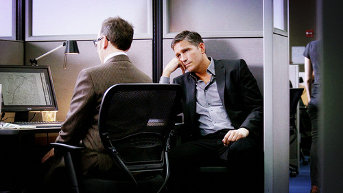 Mr.Reese and Finch