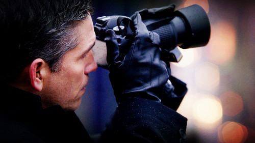 Mr Reese and his cameras