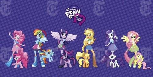 My Little Pony: Equestria Girls (With Logo And Official Info)