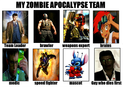 Zombies karatasi la kupamba ukuta possibly with anime called My Zombie Apocalypse