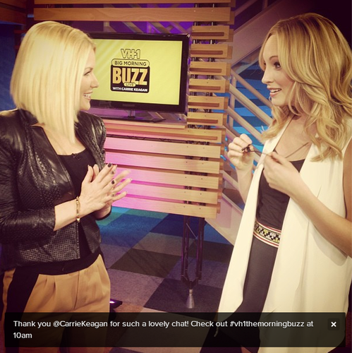New Twitter pic - Candice with Carrie Keagan [02/05/13]