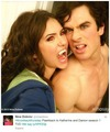 Nina's Tweet - ian-somerhalder-and-nina-dobrev photo
