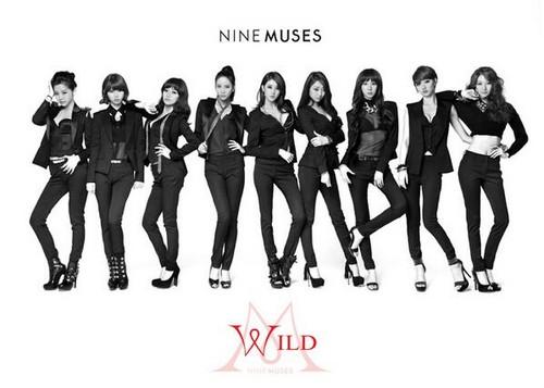 "Nine Muses Обои entitled Nines Muses ""Wild"" Teasers~"
