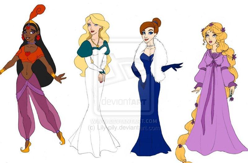 Non-Disney Princesses