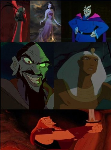 Childhood Animated Movie Villains wallpaper called Non-Disney Villains