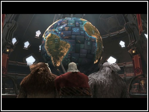 North's Globe - Rise of the Guardians