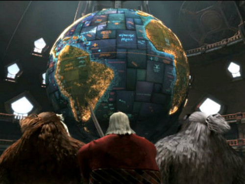 North's globe