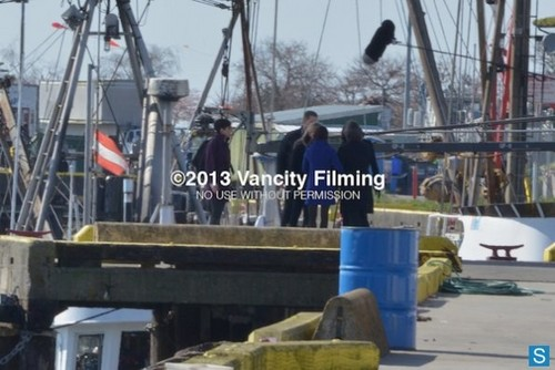 OUAT Season 2 Finale-'Exclusive Cast Set Pics!'