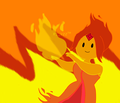 Oh Look! Flame Princess! - adventure-time-with-finn-and-jake fan art