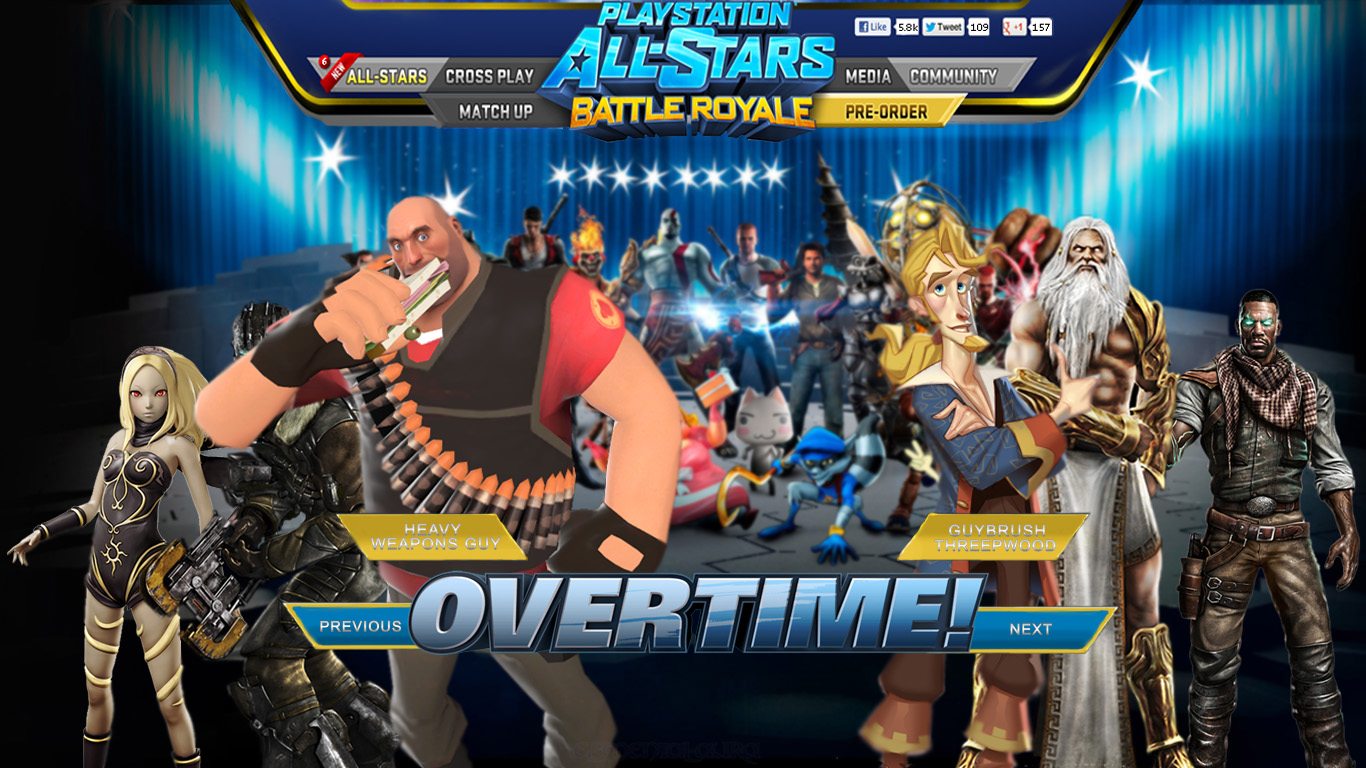 PlayStation All Stars Battle Royale Images PSASBR Fan Rivalries HD Wallpaper And Background Photos