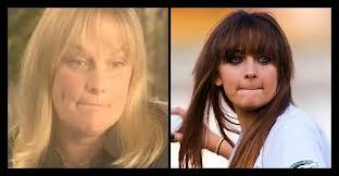 Paris Jackson fond d'écran containing a portrait entitled Paris And Her Mother, Debbie Rowe