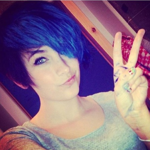 Paris Jackson fond d'écran titled Paris Jackson's New Hair Black Hair ♥♥