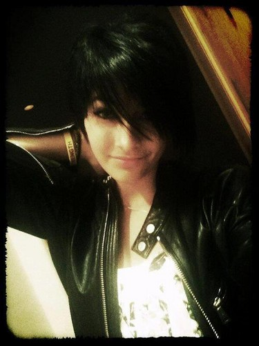 Paris Jackson kertas dinding entitled Paris Jackson's New Hair Black Hair ♥♥