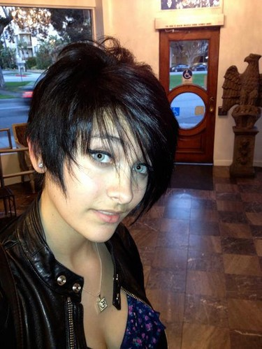 Paris Jackson's New Hair Black Hair ♥♥