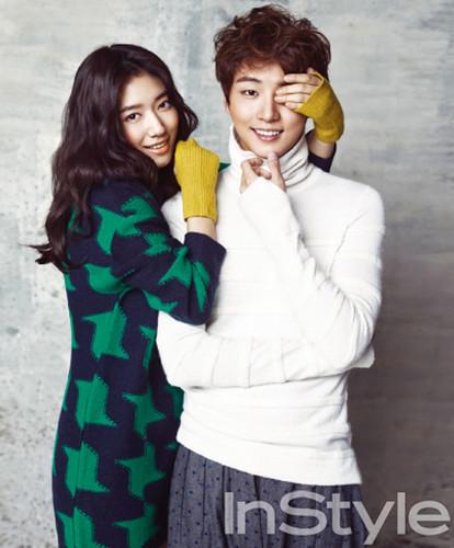 Park Shin Hye and Yoon Si Yoon