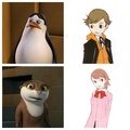 Penguins cross over with persona 3(again) - penguins-of-madagascar photo