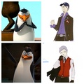 Penguins if they were in persona 3 - penguins-of-madagascar photo