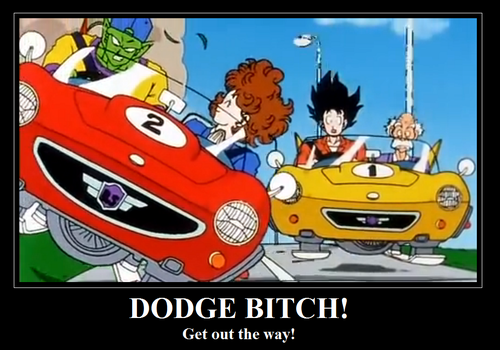 Piccolo Driving Demotivational Poster