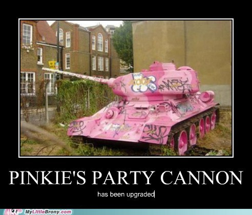 Pinkie's Party kanone