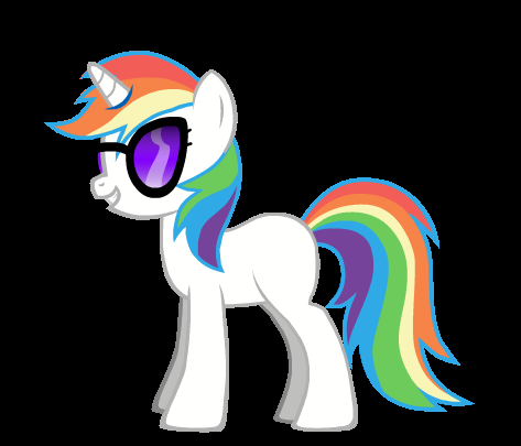 Pony combo, Rainbow Scratch