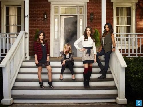 Pretty Little Liars - Season 4 - Cast Promotional تصاویر