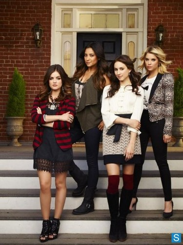Pretty Little Liars - Season 4 - Cast Promotional mga litrato