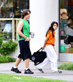 Prince Jackson and his brother Blanket Jackson at the Karate in Encino NEW May 2013 