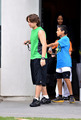 Prince Jackson and his cousin Royal Jackson at the Karate in Encino NEW May 2013 ♥♥ - prince-michael-jackson photo