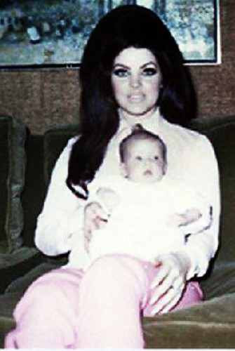 Priscilla and baby Lisa