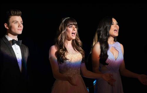Rachel, Santana & Kurt