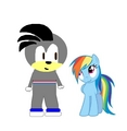 Rainbow Dash & Sean - my-little-pony-friendship-is-magic photo